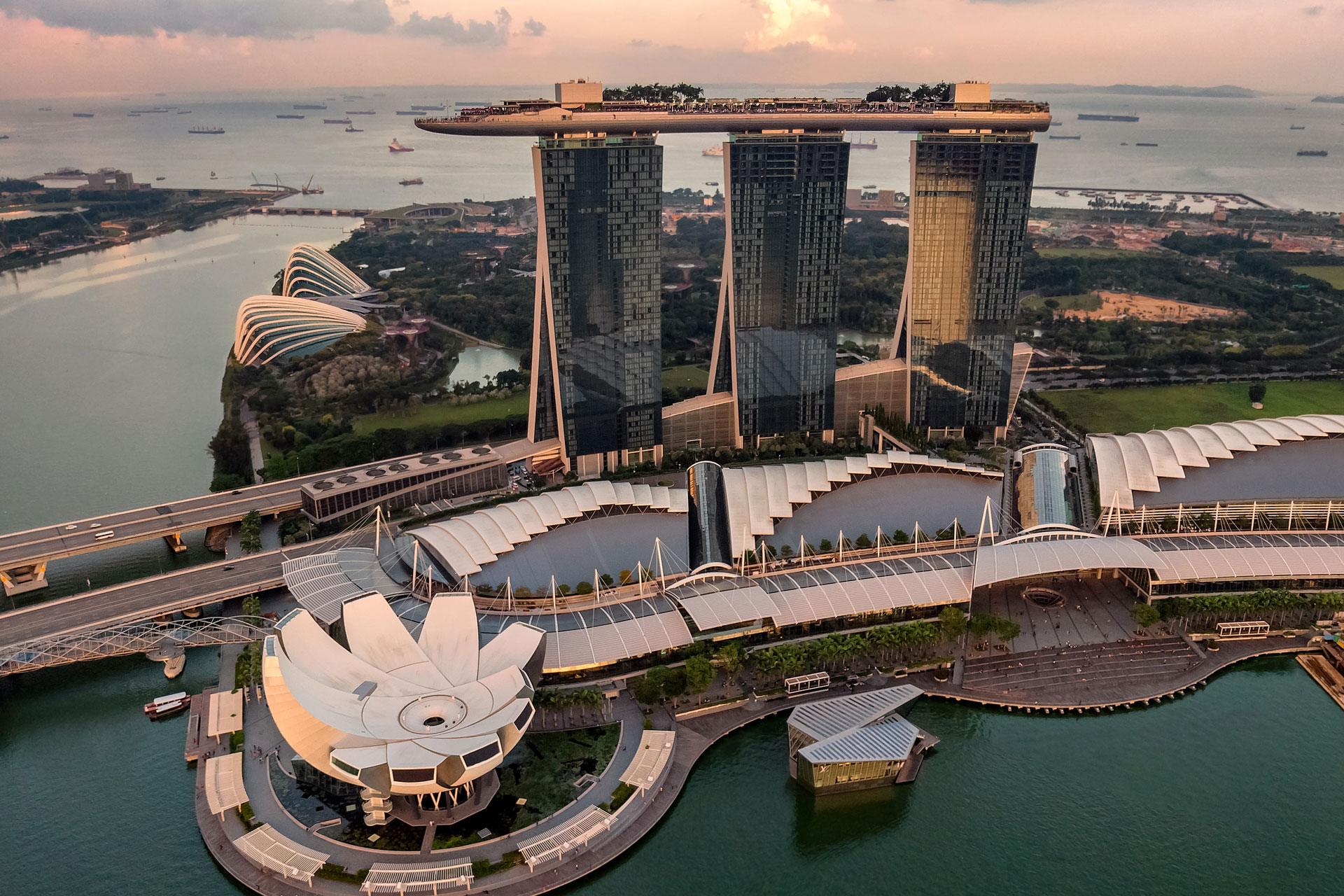 A sample of business process outsourcing project Marina Bay Sands in Singapore